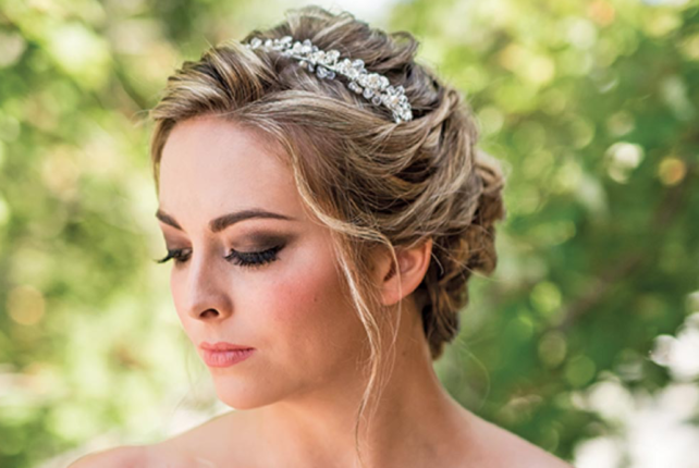 Add Some Sparkle with Jeweled Hair Accessories